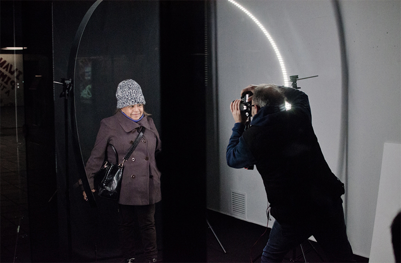 I light U / Frames for underground stories